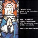 Lauda sion CD cover